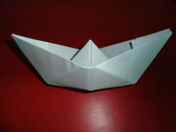 Paper ship with their own hands