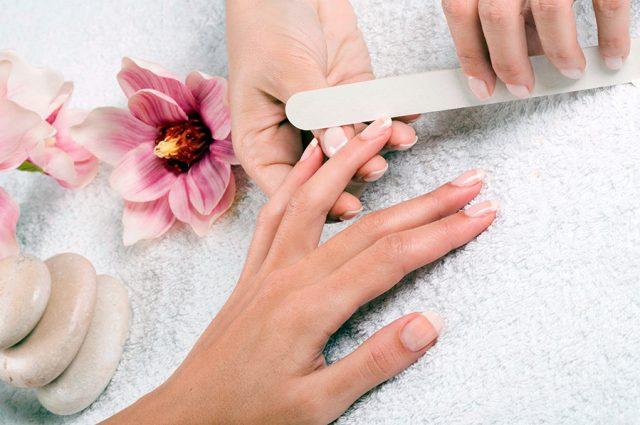 Use nail file