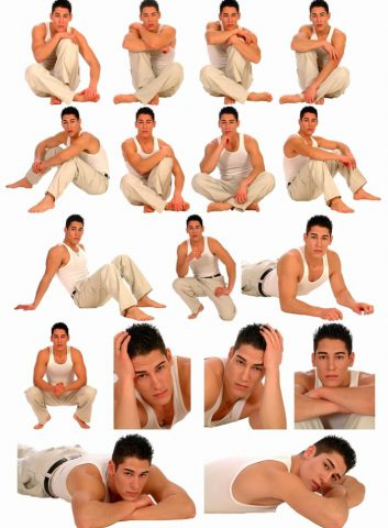 Poses for men