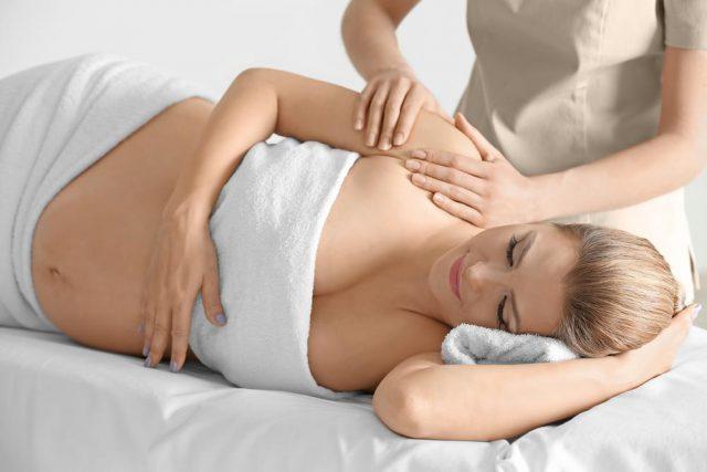 Massage for pregnant women