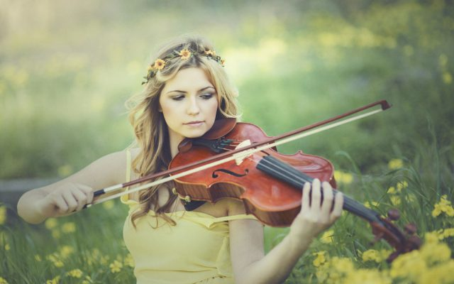 Гра на скрипці