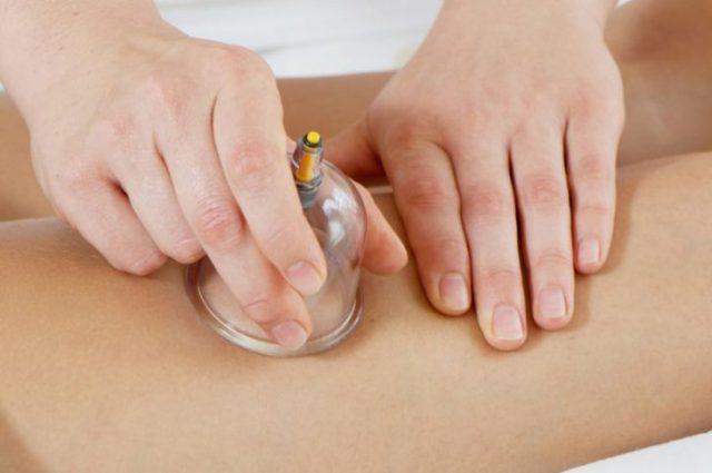 массаж баночкой