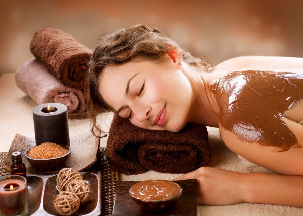 chocolate body wrap
