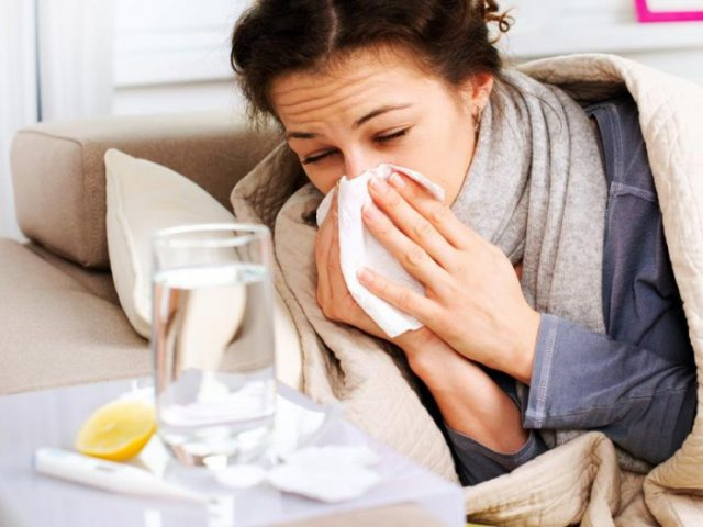 get rid of the common cold