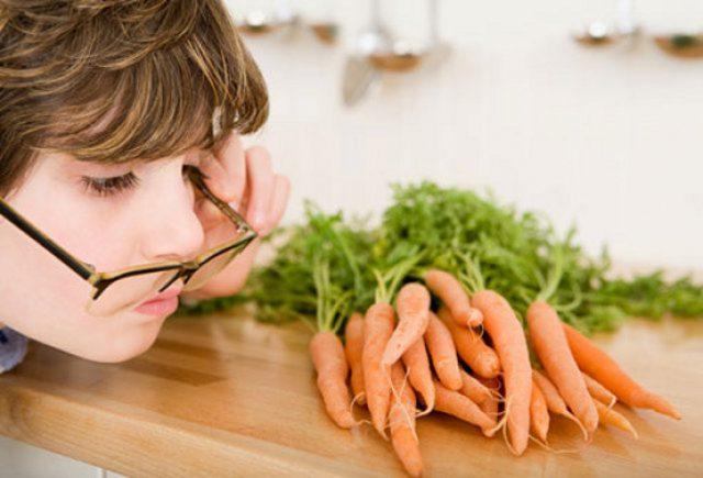 моркву для зроку