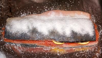 Как приготовить красную рыбу сухого посола