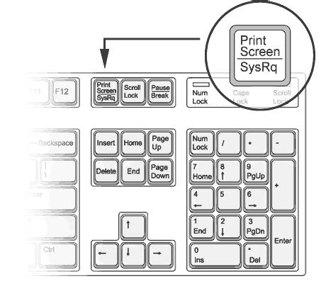 How to make a screenshot