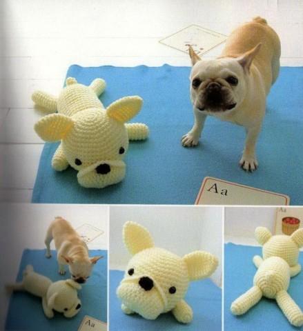 Как вязать игрушку  амигуруми собачку