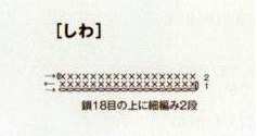 Схема полоски над мордочкой