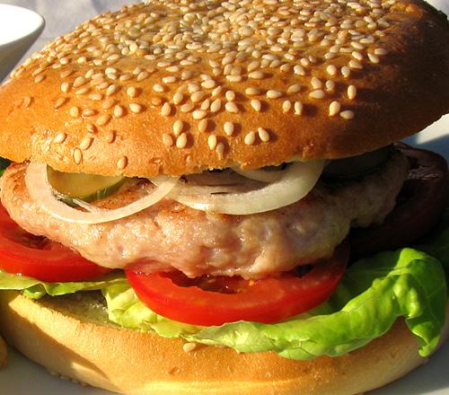 как приготовить гамбургер в микроволновки