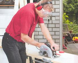 Stationary way to use saws
