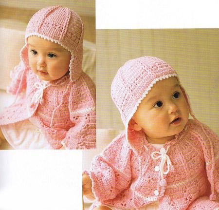 Готовая детская шапочка