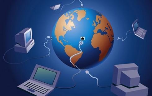 Всемирная сеть интернет в клип арте