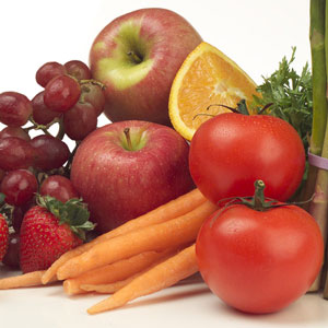 Vegetables and fruits - the guarantee of health of the future mother and her baby