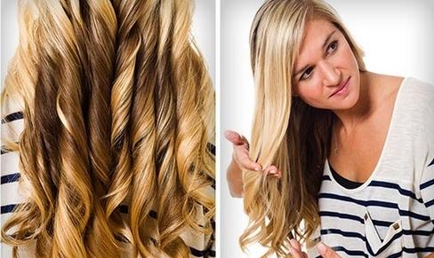 Як зробити зачіску з локонами