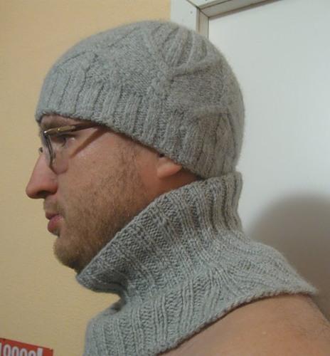 Вяжем манишку спицами для мужчин