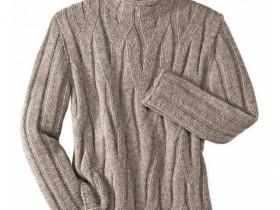 Как связать мужской свитер