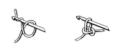 Как делать начальную петлю крючком