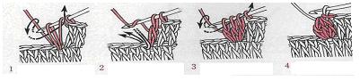 Как вязать пышный столбик крючком