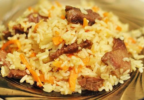 что приготовить из риса и свинины