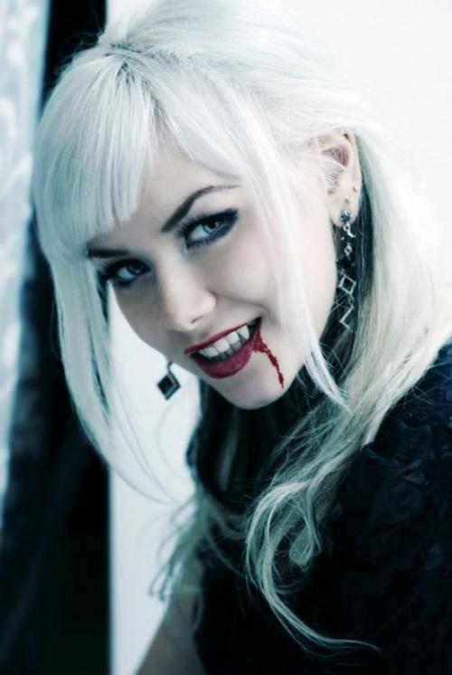 Pretty vampire