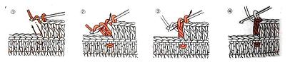Как вязать вогнутый рельефный столбик крючком
